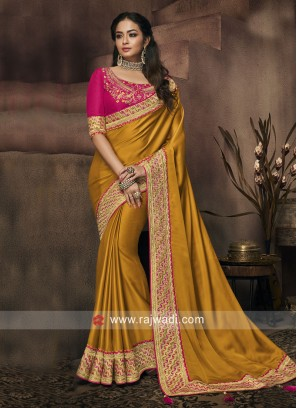 Exclusive Border Work Saree