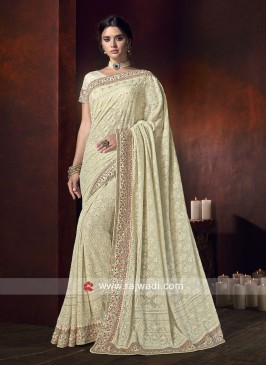 Exclusive Chiffon Saree with Blouse