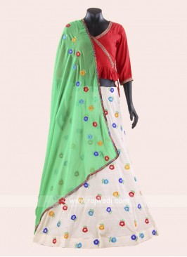 Exclusive Cotton Chaniya Choli for Garba