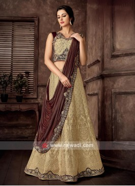 Exclusive Cream Lehenga Choli