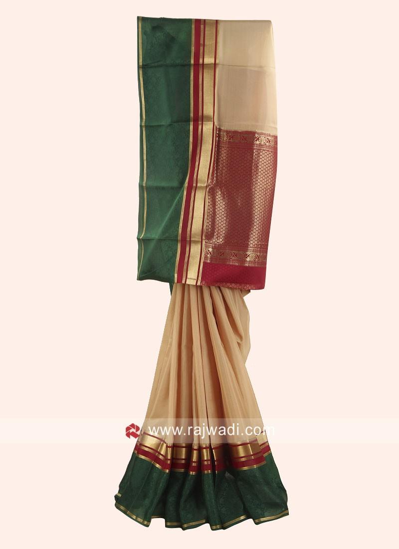 Exclusive Crepe Silk Wedding Saree