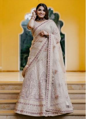 Exclusive Lehenga Choli In Lavender color