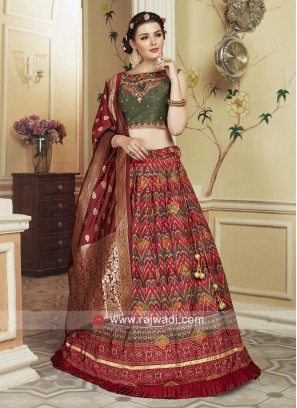 Exclusive Patola Silk Lehenga Choli