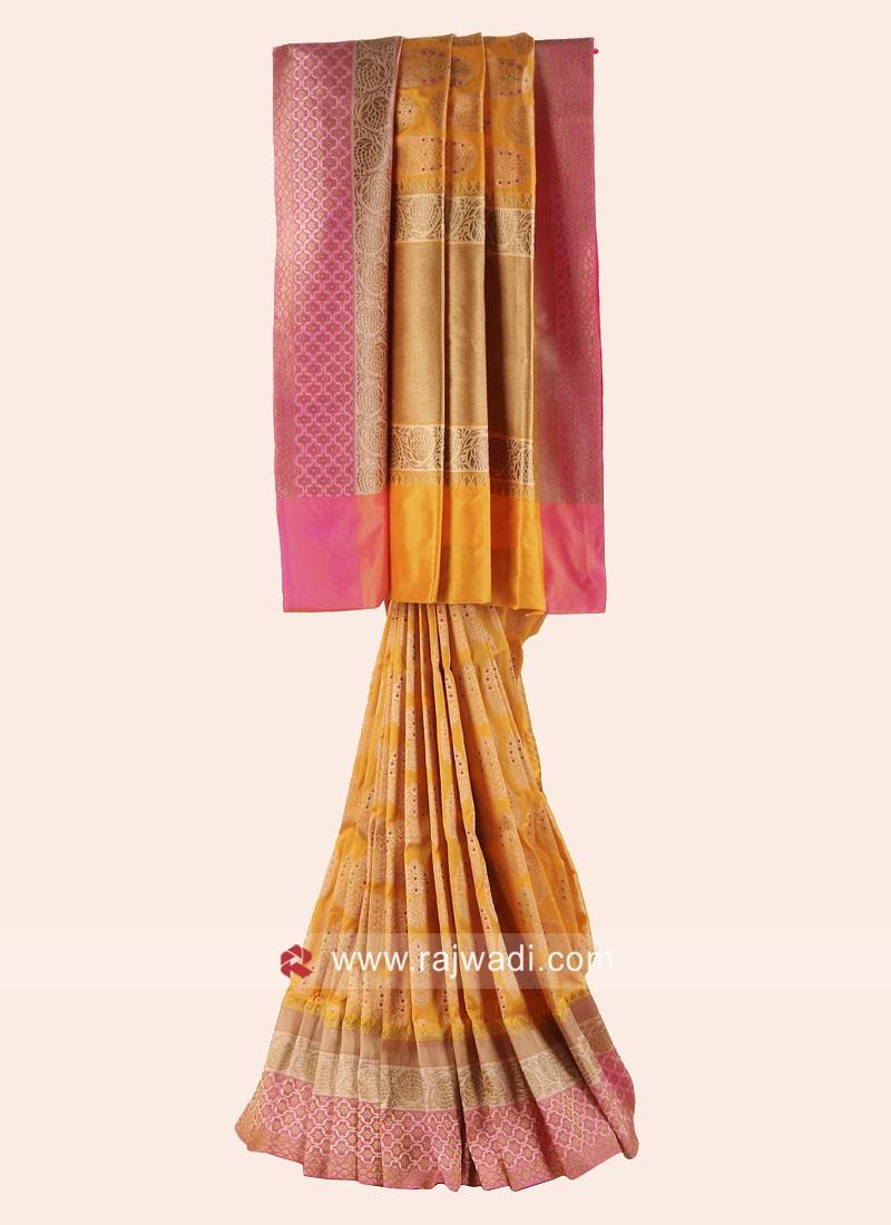 Exclusive Pure Silk Wedding Saree