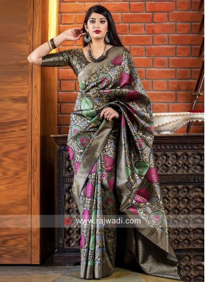 Exclusive Reception Saree with Blouse