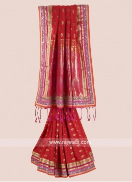 Exclusive Silk Saree in Red