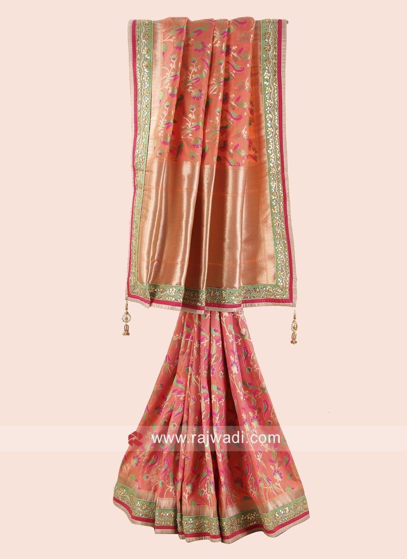 Exclusive Silk Wedding Saree