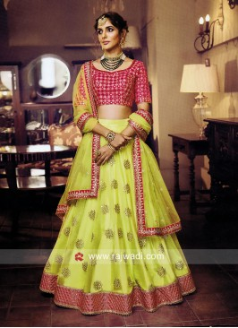 Exclusive Unstitched Lehenga Choli