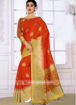 Exclusive Weaved Saree