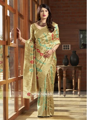 Exclusive Weaving Banarasi Silk Saree