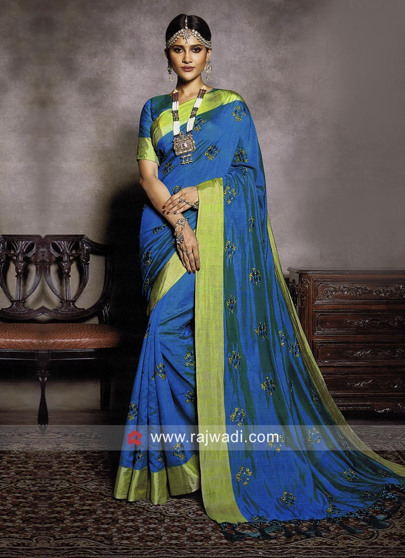 Exclusive Wedding Art Silk Saree
