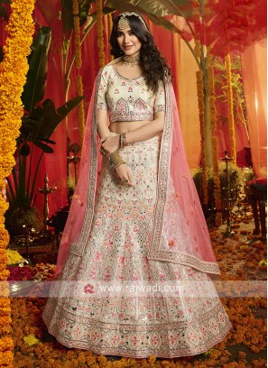 Exclusive White Lehenga Choli