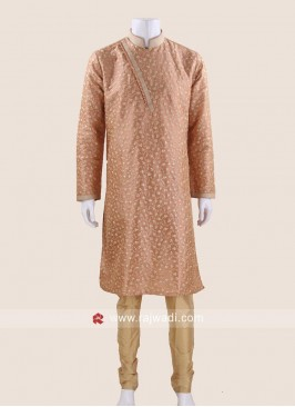 Exquisite Peach Kurta Pajama
