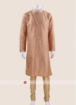 Exquisite Peach Kurta Pajama
