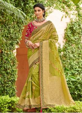 Fab Traditional Designer Saree For Festival