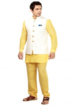 Fabulous Linen fabric Nehru Jacket