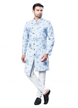 Fancy Indo-Western In Cotton Silk
