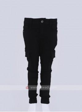 fancy jogger style black jeans