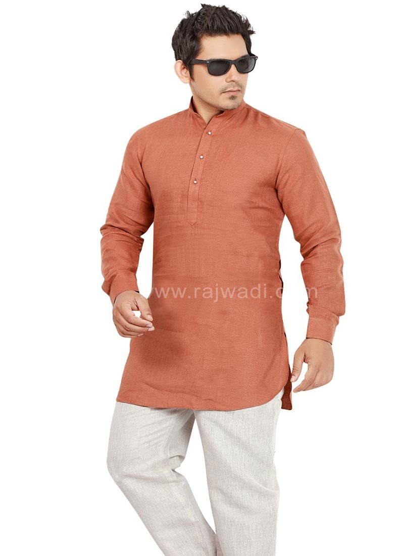 Fancy Linen Pathani Suit