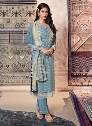Fancy Printed Dress Material
