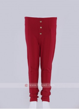 fancy red jeggings