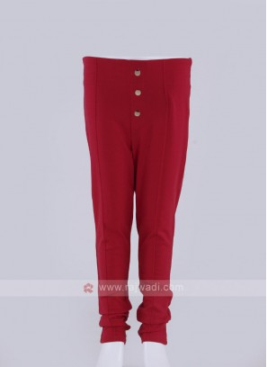fancy red jeggings
