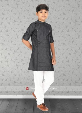 Round Neck Boys Kurta Set