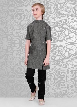 Fancy Side Buttons Kurta Pajama