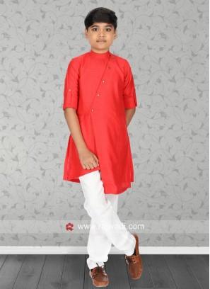 Attractive Cotton Fabric Kurta Set