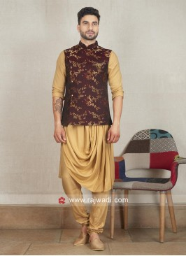 Designer Wedding Nehru Jacket