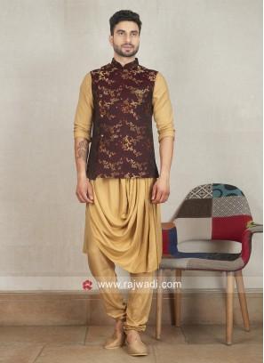 Designer Wedding Nehru Jacket