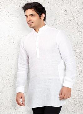 Fancy White coloured Kurta