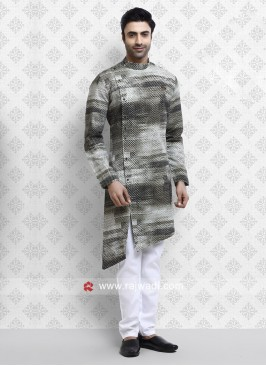 Fantastic Jute Silk fabric Pathani Suit
