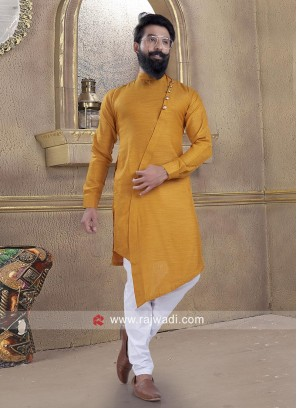 Fantastic Cotton Silk fabric Pathani Suit