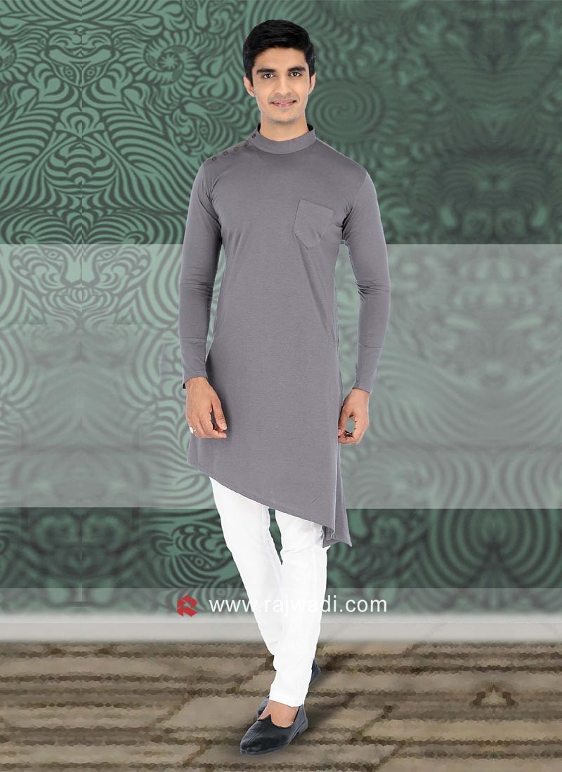 Fantastic Linen fabric Pathani Suit
