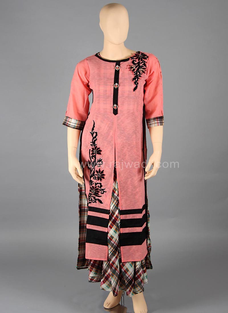 Fantastic Peach coloured Kurti