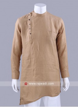Fawn Color Kurta For Party