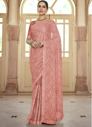 Festal Resham Reception Trendy Saree