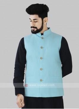 Firozi Color Koti For Men