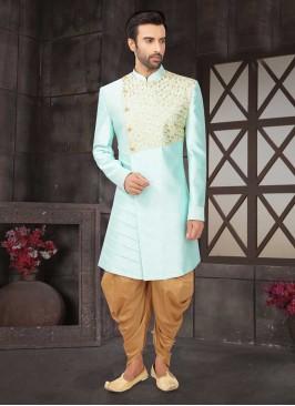 Firozi Color Wedding Indo-Western