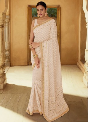 Flamboyant Thread Sangeet Classic Saree