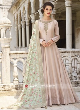 Floor Length Designer Anarkali Dress