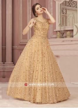 Floor Length Designer Gown