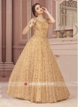 Floor Length Designer Gown