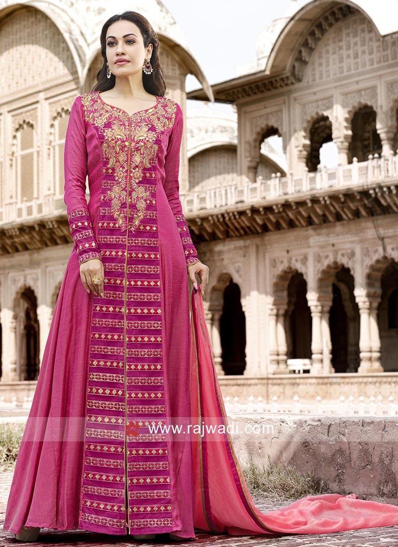 Floor Length Designer Salwar Kameez