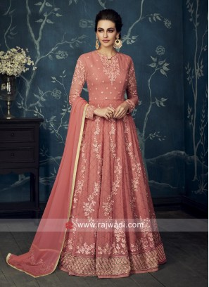 Floor Length Party Special Anarkali Dress