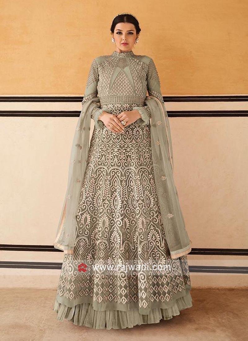 Floor Length Eid Special Anarkali Dress