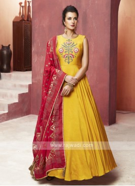 Floor Length Exclusive Anarkali Dress