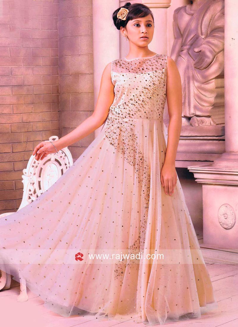 Floor length Gown For Girls