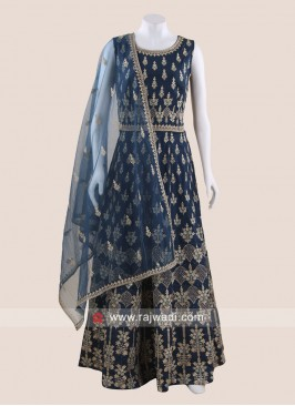 Floor Length Wedding Anarkali Salwar Kameez